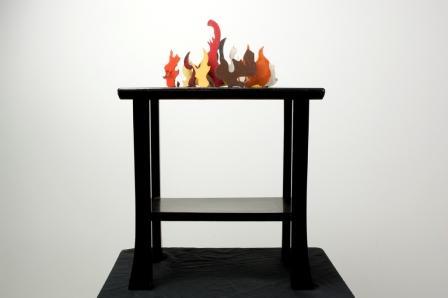 Merijn Bolink kleine brand kunstwerk umc