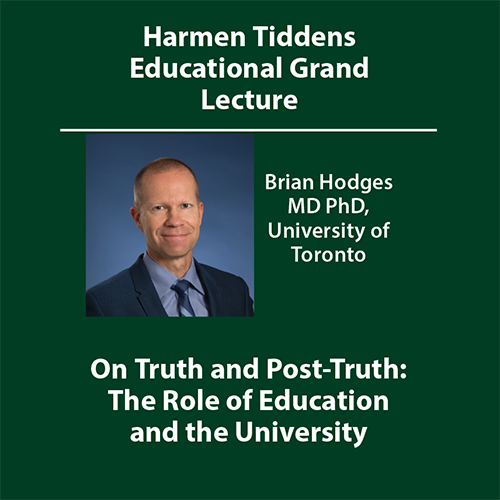 Uitnodiging grand lecture Brian Hodges